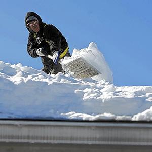 Работа на высоте охрана труда очистка крыш от снега
